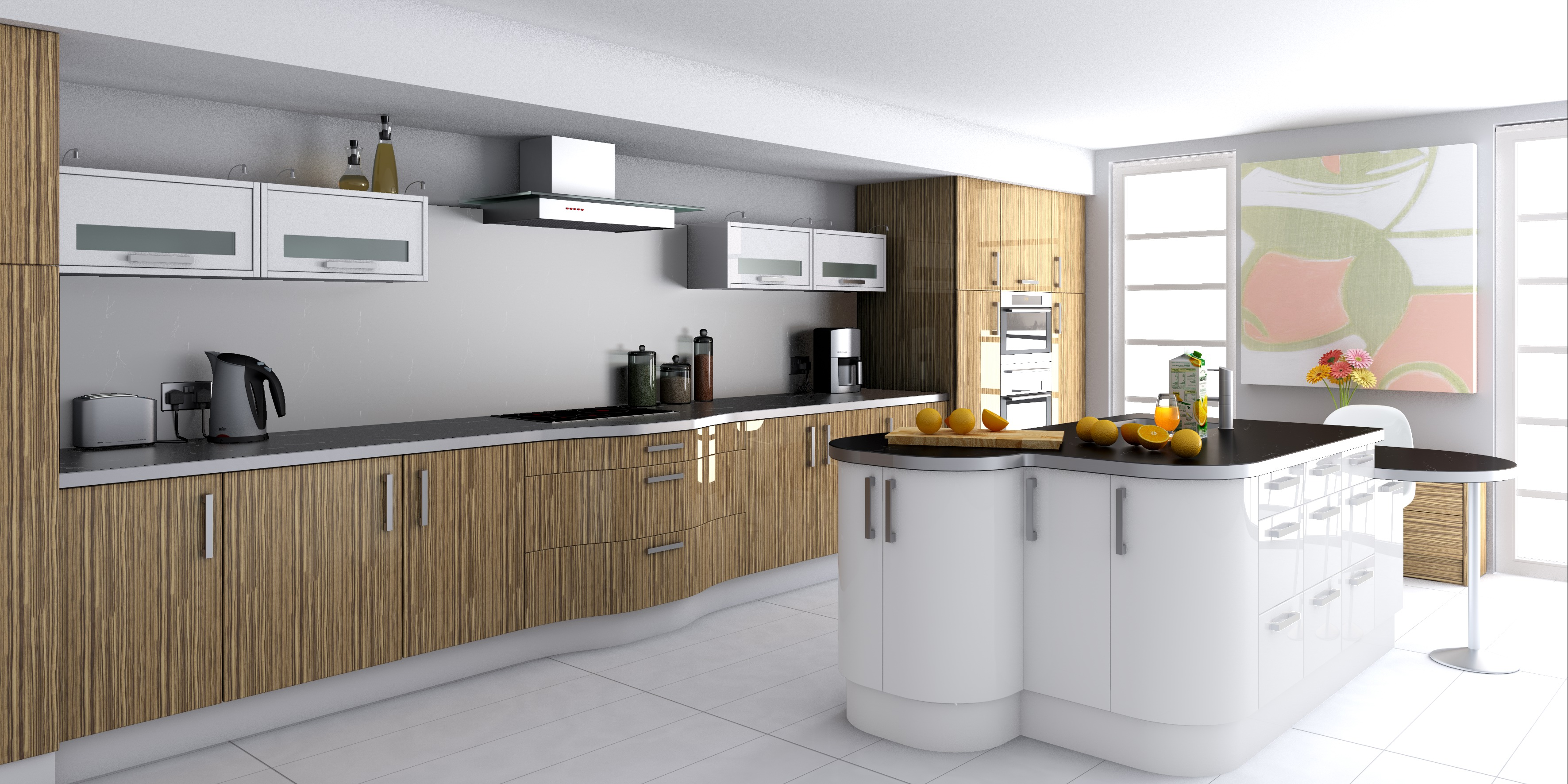 Fitted kitchens tralee killarney listowel dingle for Contemporary fitted kitchens